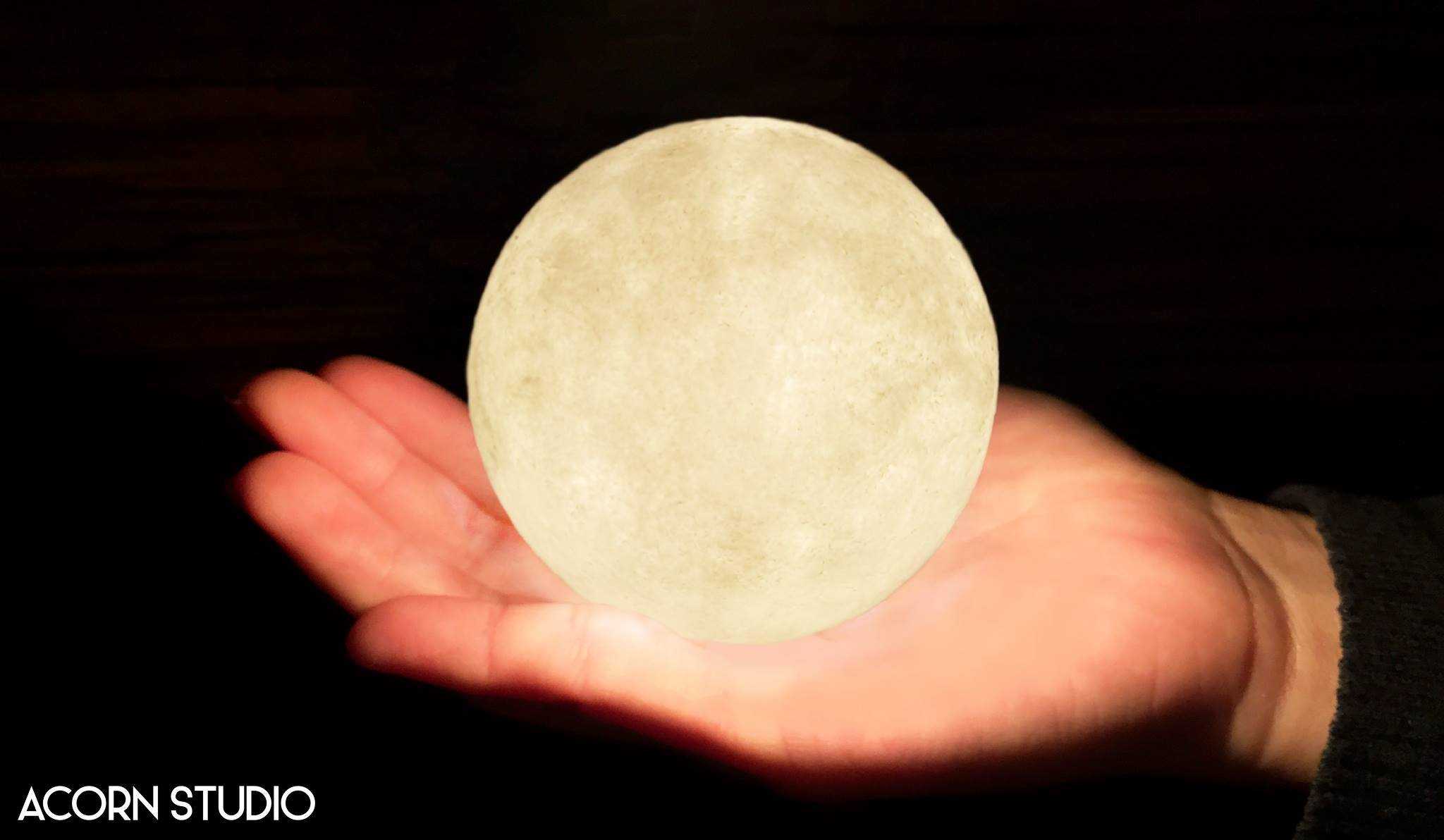 hold the moon in the palm of your hands with luna icrt blog
