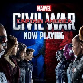 """Captain America:Civil War"" Tops Taiwan and US Box Office"