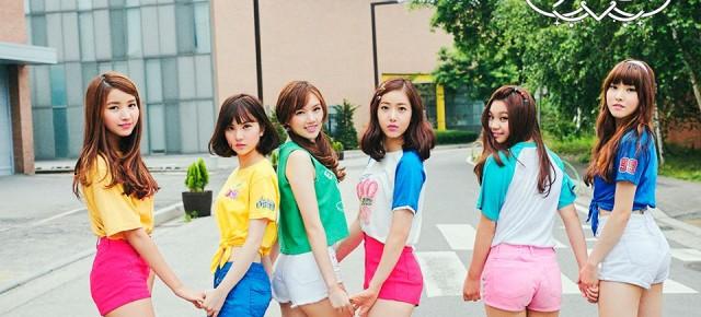 "South Korean Girl Group ""GFriends"" to Visit Taiwan"